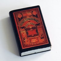 Voyages Extraordinaires - Book Covered Matchbox - Jules Verne