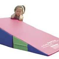 Tumbl Trak Random Colors Folding Incline with Velcro Flap and Handles