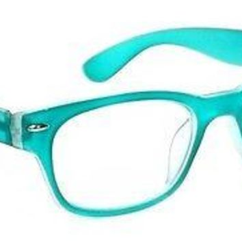 RETRO READING GLASSES CLASSIC HIGHLIGHT STYLE SPRING HINGES FRAME