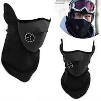 New Thermal Windproof Warm Face Mask Neck warmers Fleece Balaclavas CS Hat Headgear Winter Skiing Ear Motorcycle Bicycle Scarf = 1958264004
