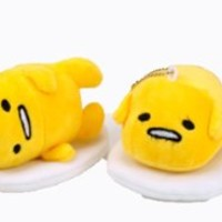 4 Pcs 4'' Gudetama Mini Plush Soft Toys Collection