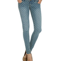 Polka Dot Skinny Jean | Shop Jeans at Wet Seal