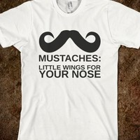 MUSTACHES:LITTLE WINGS FOR YOUR NOSE