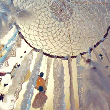 Bohemian Dreamcatcher Mobile -  Boho Mobile Crib  - Made to Order - Baby Mobile -  Hippie Bedroom Decor - Boho Nursery Decor