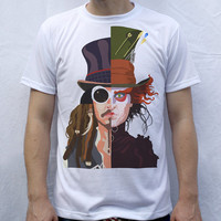Johnny Depp T Shirt Artwork