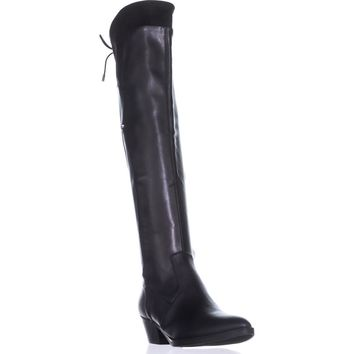 G by Guess Vianne2 Over-the-Knee Boots, Black Multi, 8 US
