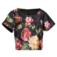 Flower Crop Top | Events | Women's Fashion Clothing Store Eventsretail.com.au
