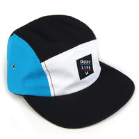 Quiet Life: Aruba 5 Panel - White / Red / Blue