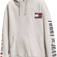 TOMMY JEANS '90s Flag Hoodie | Nordstrom