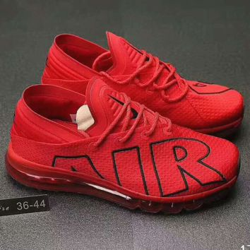Nike Air Max Flair Women Men Casual Running Sport Shoes Sneakers Red G-PSXY