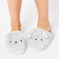 ASOS NELSON Grumpy Ted Slippers