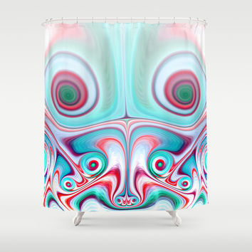 eyes Shower Curtain by Haroulita