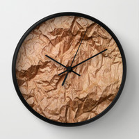 vreca Wall Clock by Trebam | Society6