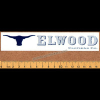 Elwood Clothing Skateboard Sticker