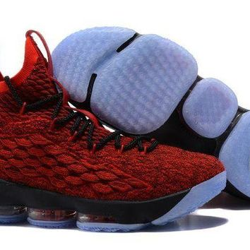 DCCKL8A Jacklish Nike Lebron 15 University Red/black On Sale