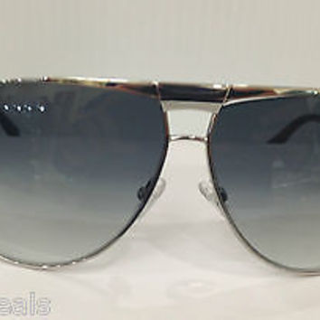 NEW AUTHENTIC GIORGIO ARMANI GA 919/S COL 010UA SILVER METAL SUNGLASSES FRAME