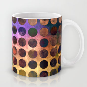 MELANGE of VIOLET and RUST Mug by Pia Schneider #mug #coffeemug #teamug #kitchen #home #homedecor #kitchendecor #breakfast #coffeetime #art