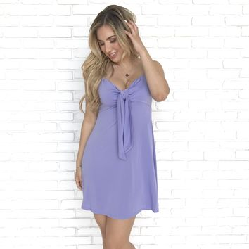 Feel Like Dancing Lavender Dress