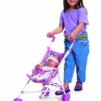 Small World Toys All About Baby Dolls - Umbrella Stroller (for Dolls only)