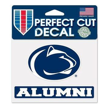 "Licensed Penn State Nittany Lions NCAA 4"" x 5"" Die Cut Car Decal PSU Wincraft 364104 KO_19_1"
