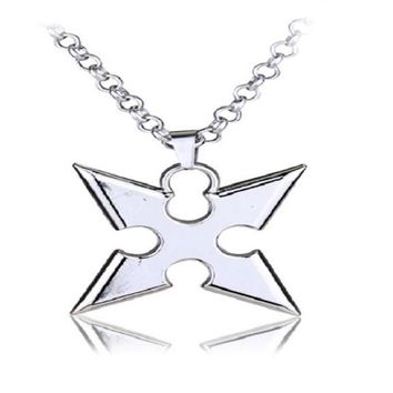 Zinc Alloy Kingdom Hearts Pendants Necklace For Women