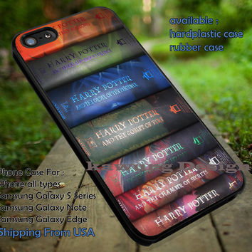Book Series | Harry Potter | Movie  iPhone 6s 6 6s+ 6plus Cases Samsung Galaxy s5 s6 Edge+ NOTE 5 4 3 #movie #HarryPotter ii