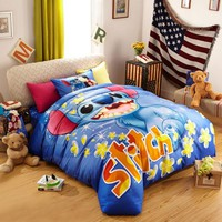 Disney's Lilo & Stitch Fictional Character Bedding Set | EBeddingSets