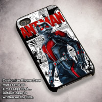 Ant Man Comic Strip - For iPhone 4/ 4S/ 5/ 5S/ 5SE/ 5C/ 6/ 6S/ 6 PLUS/ 6S PLUS/ 7/ 7 PLUS Case And Samsung Galaxy Case