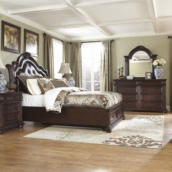 Ashley B686 Caprivi King Bedroom Set