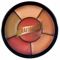 Graftobian Dark Corrector & Tattoo Cover Wheel Theatrical Professional Makeup