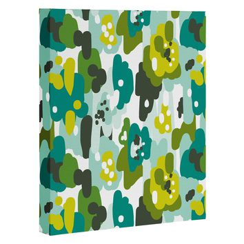 Heather Dutton Painted Camo Art Canvas