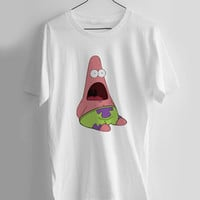 patric spongebob T-shirt Men, Women and Youth