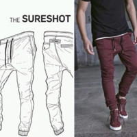 Casual Slim Pants [10368004931]