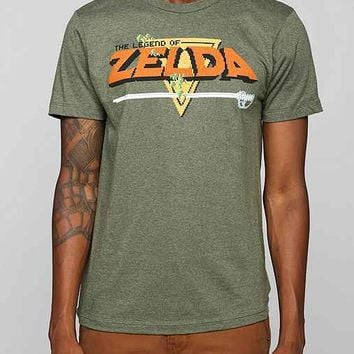 Legend Of Zelda Tee- Dark Green