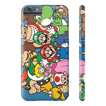 Nintendo Super Mario Bros. Characters Phone Cases| All iPhone and Galaxy Phone cases Available
