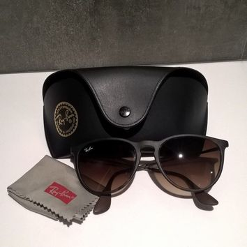 RAY BAN ERIKA | Tortoise Brown Pilot Sunglasses | RB 4171 | Preloved