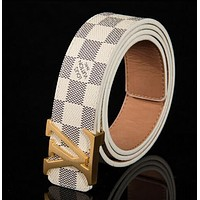 LOUIS VUITTON MEN'S WOMEN'S LEATHER BELTS M9807