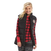 Madden Girl Juniors' Puffer Vest