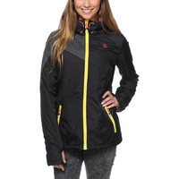 Volcom Girls Nyala Black Insulated Jacket at Zumiez : PDP
