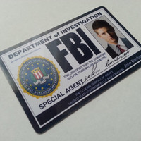 Supernatural FBI Id card Dean Winchester