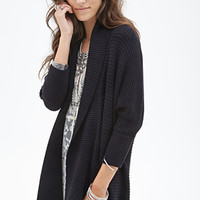 FOREVER 21 Open-Front Dolman Cardigan