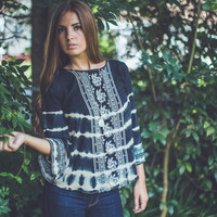 Boho Babe Top in Black