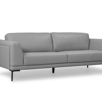 Kerman Contemporary Sofa Light Grey