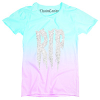 RIP Glitter Ombre  Relaxed T shirt