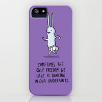 Dance in your Underpants iPhone Case | Print Shop
