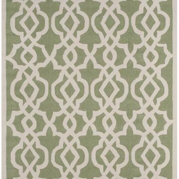 Safavieh Four Seasons FRS466C Seafoam / Ivory Rug