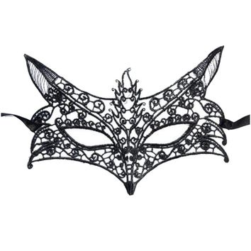 Sexy Lace Eye Mask Women/Girls Evening Party/Prom/Masquerade Mask Halloween-373