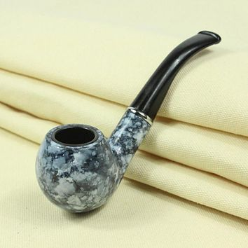 Hight Quality Stone Style Tobacco Cigarette Cigar Pipes Tools Smoking Pipe Durable Best Vintage Gift for Your Love Free Shipping