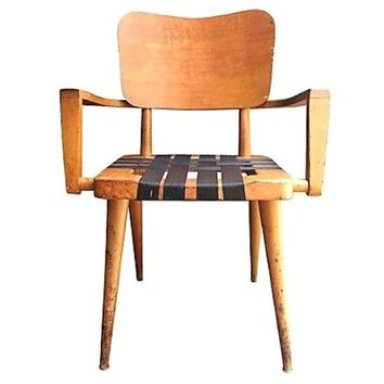 Pre-owned 1950s Jens Risom Style Armchair