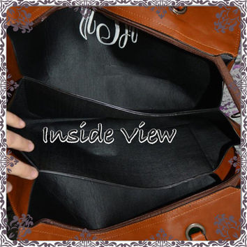 Monogrammed Purse, Monogram Bag, Pocketbook Monogrammed, Soft & Luxurious Leather-like Purse, Classy Pocketbook
